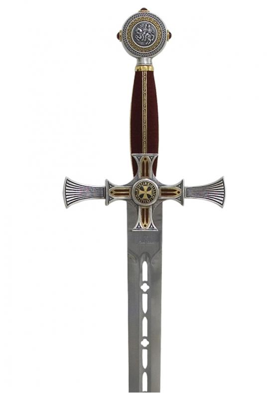 Damascene Templar Sword
