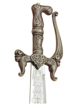 Alfanje sword Arabe Silver