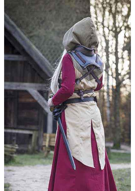 Medieval Rogue Female Leather Armour