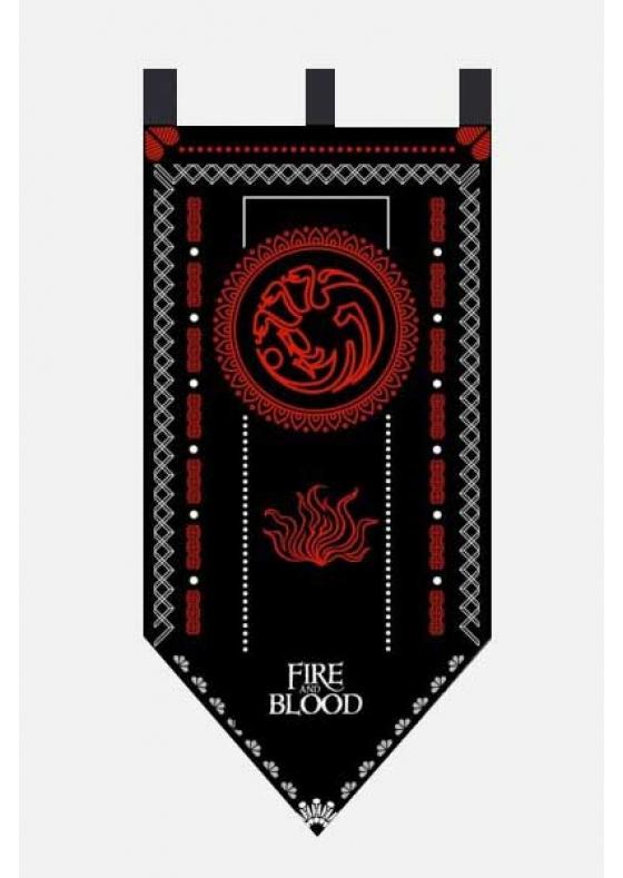 Flag Game of Thrones Targaryen