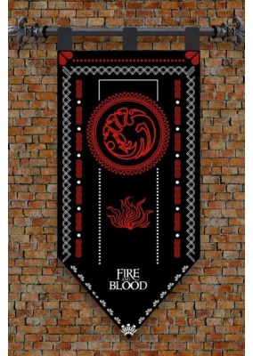 Flag Game of Thrones Targaryen