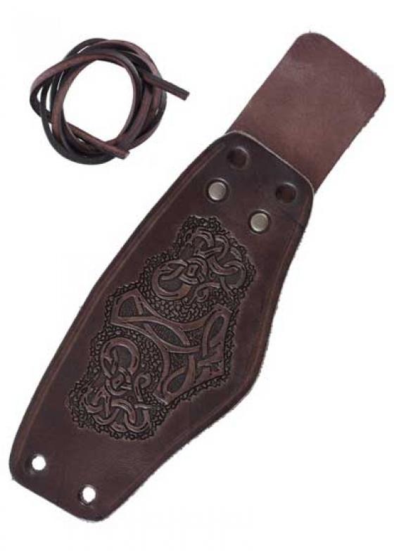 Thor's Leather Bracer Short