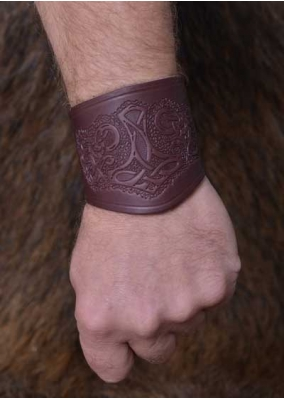 Thor's Leather Bracer Short