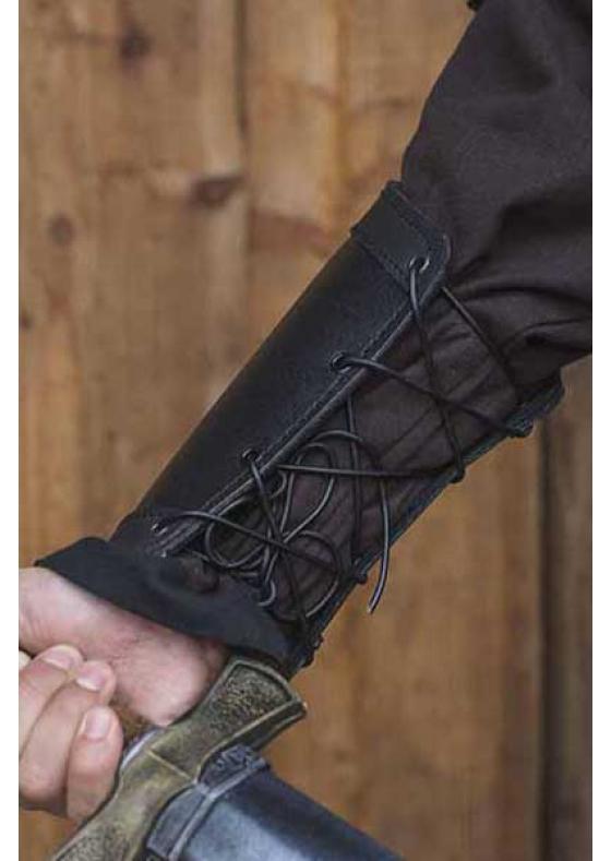 Medieval Warrior Leather Bracers
