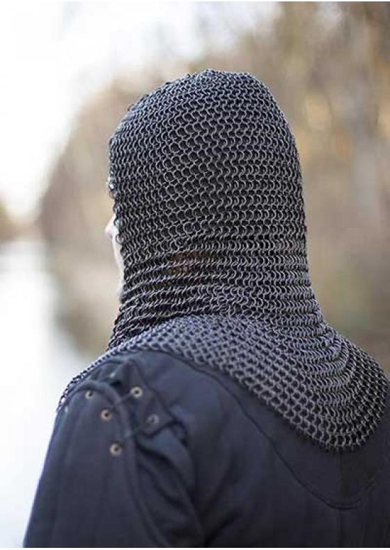 Chainmail Hood Dark