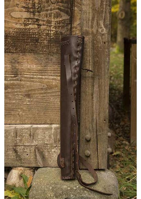 Medieval Hunter Quiver Black/Brown for LARP