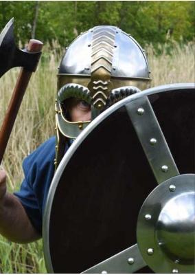 Casco Beowulf con Cota de Malla