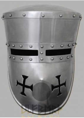 Crusader Helmet Functional 2mm Steel