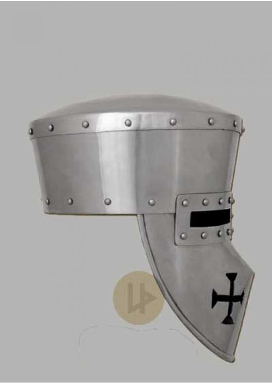Crusader Helmet Functional 2mm Steel