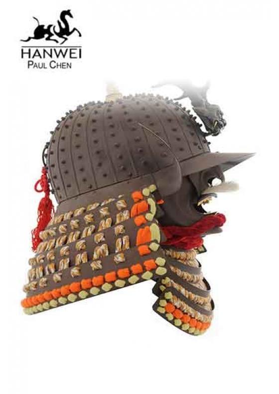Daisho Kake Kabuto Helmet with Mempo Mask