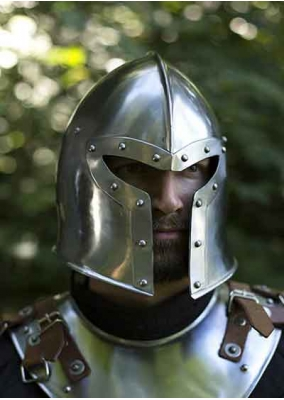 Barbuta Helmet - 100% Functional