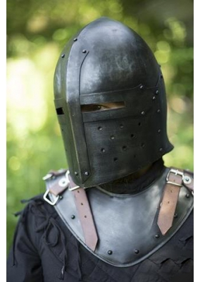 Functional Sugar Loaf Helmet - Dark Steel