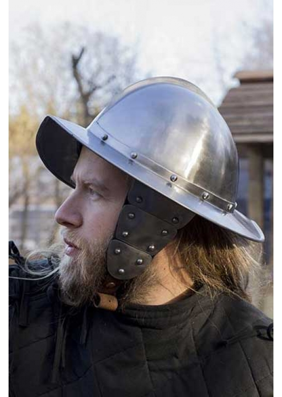 Medieval Morion Helmet with Protection