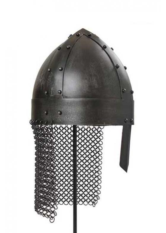 Viking Spangenhelm Helmet - Dark or Polished!