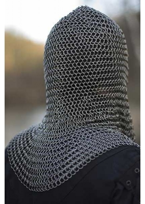 Chainmail Hood Silver