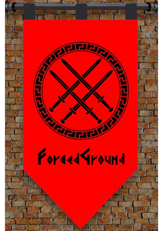Create your Medieval Banner! Customize with your Design!