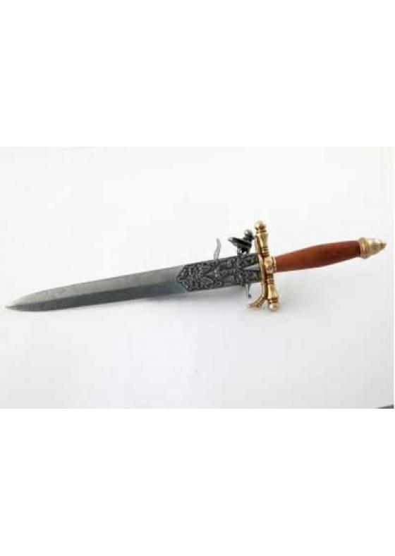 Knife-Pistol, France 18th Century