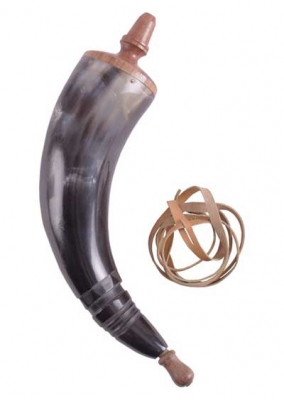 Natural Powder Horn