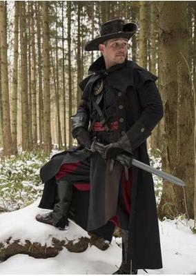 Gothic Black Coat