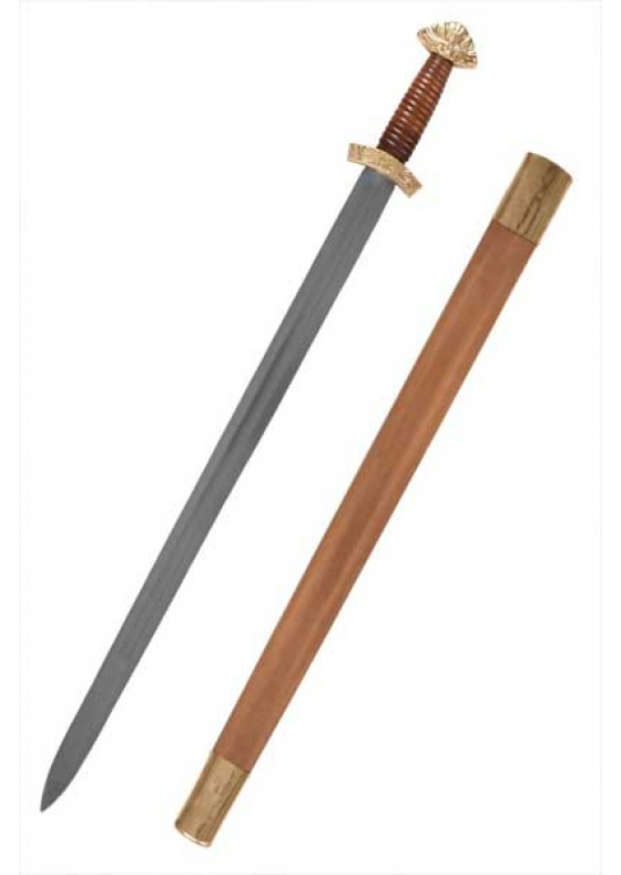 Viking Functional Long sword with Scabbard