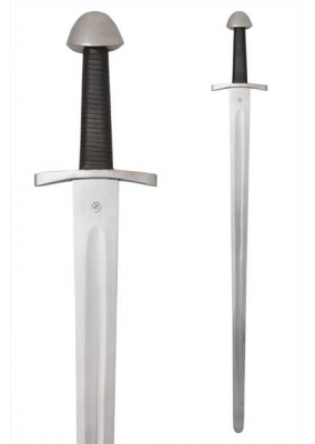 Functional Medieval Norman One-Handed Sword, Practical blunt, SK-B