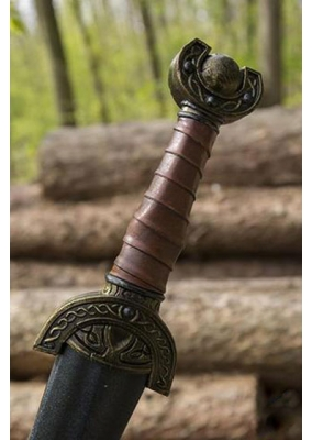 Celtic Leaf - Larp Short Sword