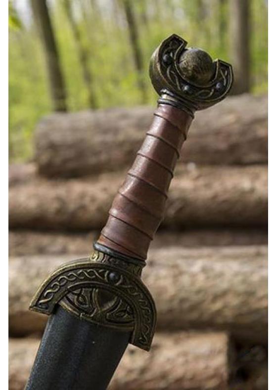 Celtic Leaf - Larp Short Sword