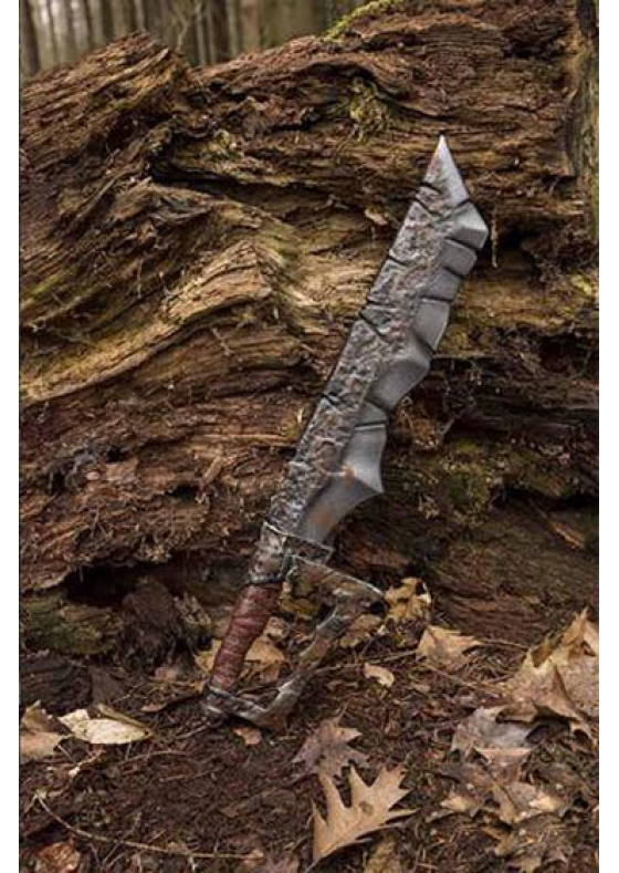 Larp Orc Cleaver - You will slay Orcs with your sword and bring it home to your people.