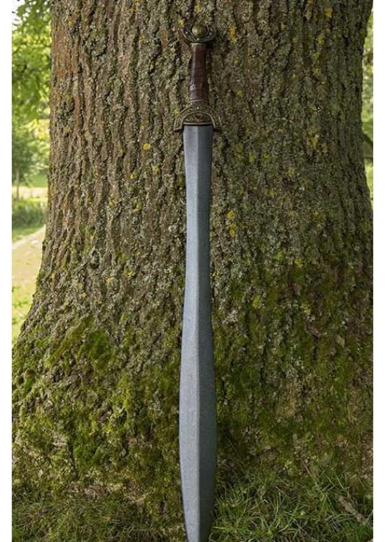 Celtic Leaf Sword Larp