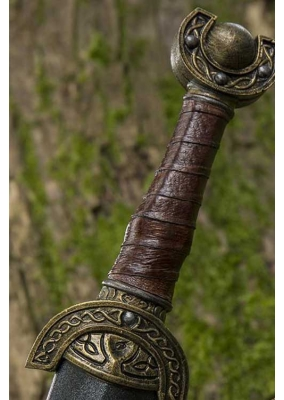 Celtic Leaf Sword Larp