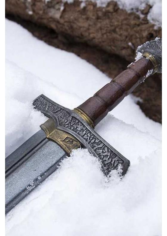 Larp Crusader Sword