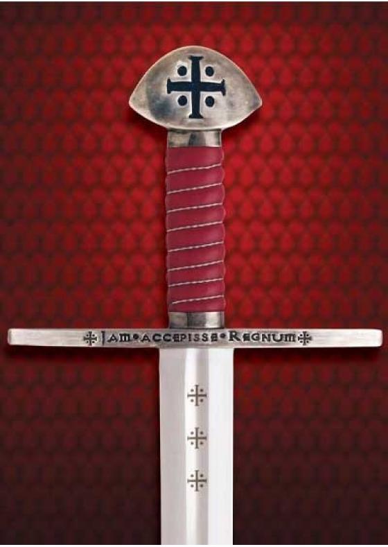 """Templar sword William """"The Conqueror"""" Functional"""