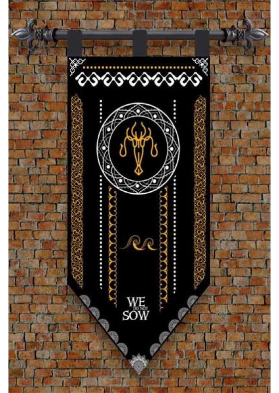 Banner Game of Thrones Greyjoy