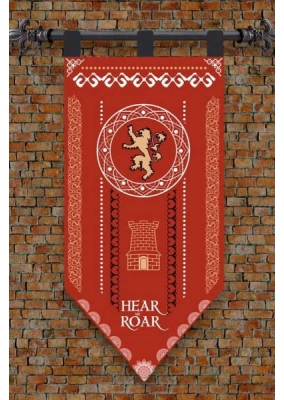 Banner of Game of Thrones Lannister