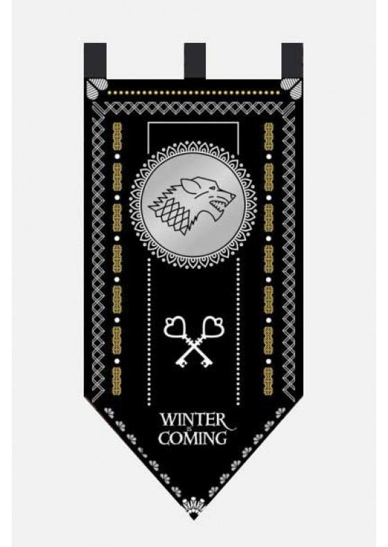 Game of Thrones Flag Stark