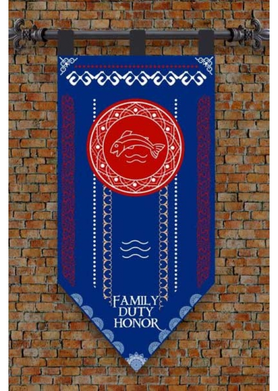 Flag Game of Thrones Tully