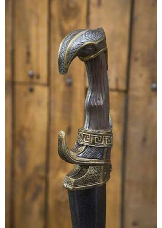 Iberian Falcata Larp Sword - The Romans are closing in against your army, but you have the Falcata in your well trained hand!