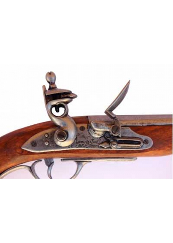 Flintlock Pirate Pistol, France 18th Century