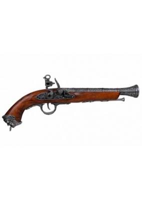Flintlock Pirate Pistol, Italy 18th Century
