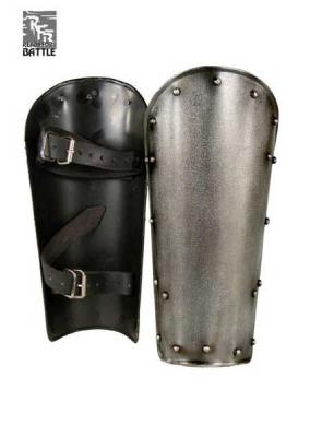 Medieval Greaves Dark Warrior