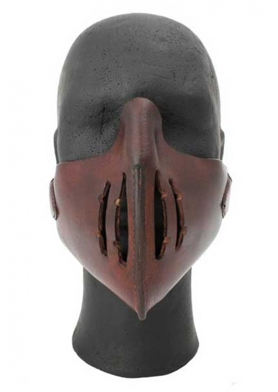 Asiatic Mempo Leather Mask