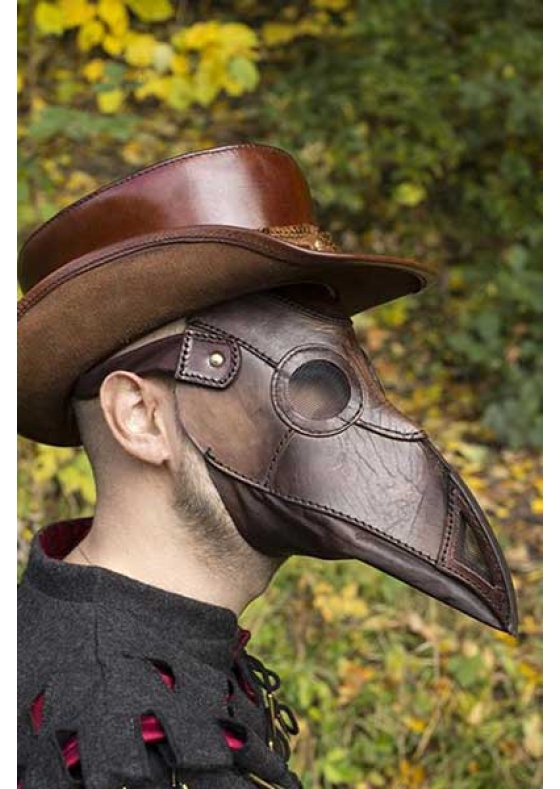 Plague Doctor Leather Mask