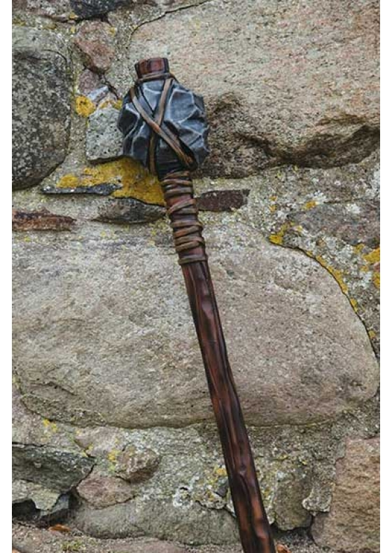 Stone Mace for LARP & Medieval