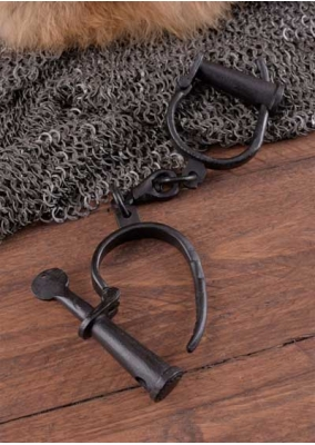 Medieval Handcuffs Hand Forged