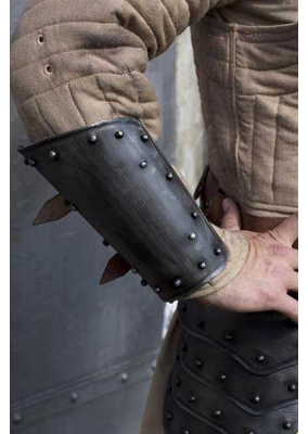 Pack Medieval Greaves + Arm Protection Dark Warrior