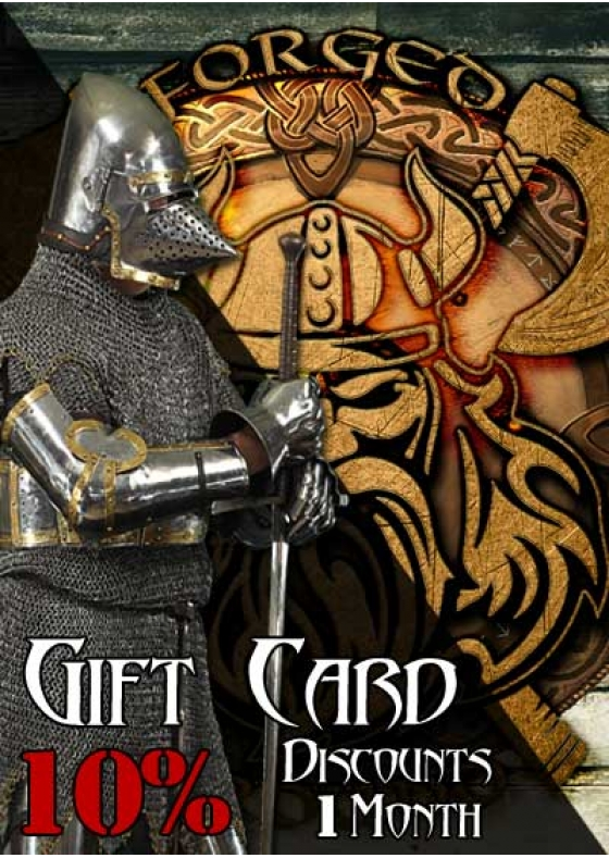 Gift Card - 10% discount / 1 Month