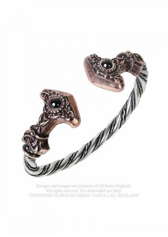 Thor's Silver Bracelet Alchemy