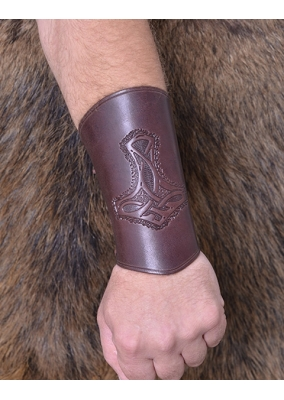 Thor's Leather Bracer